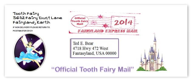 tooth fairy address