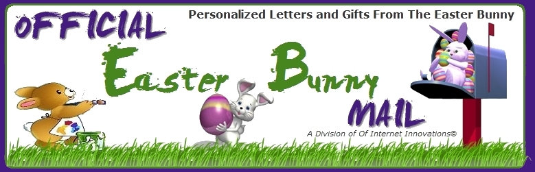 Official easter bunny mail personalized easter bunny letters official easter bunny mail personalized easter bunny letters with our custom easter bunny letter designer negle Gallery