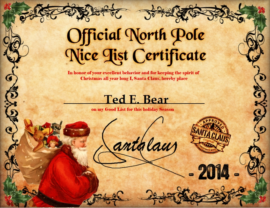 ... experience and memories of a good Santa Letter can last a lifetime