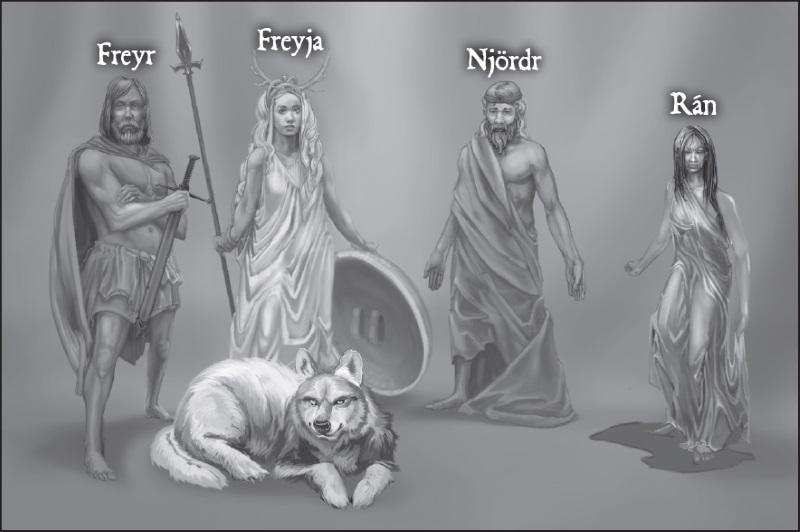 Ansuz, The Gods - Myth-Weavers