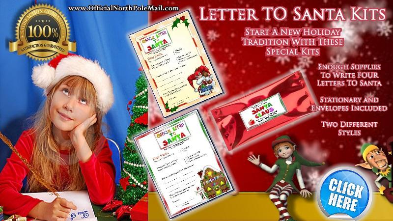 Write to Santa starter kit